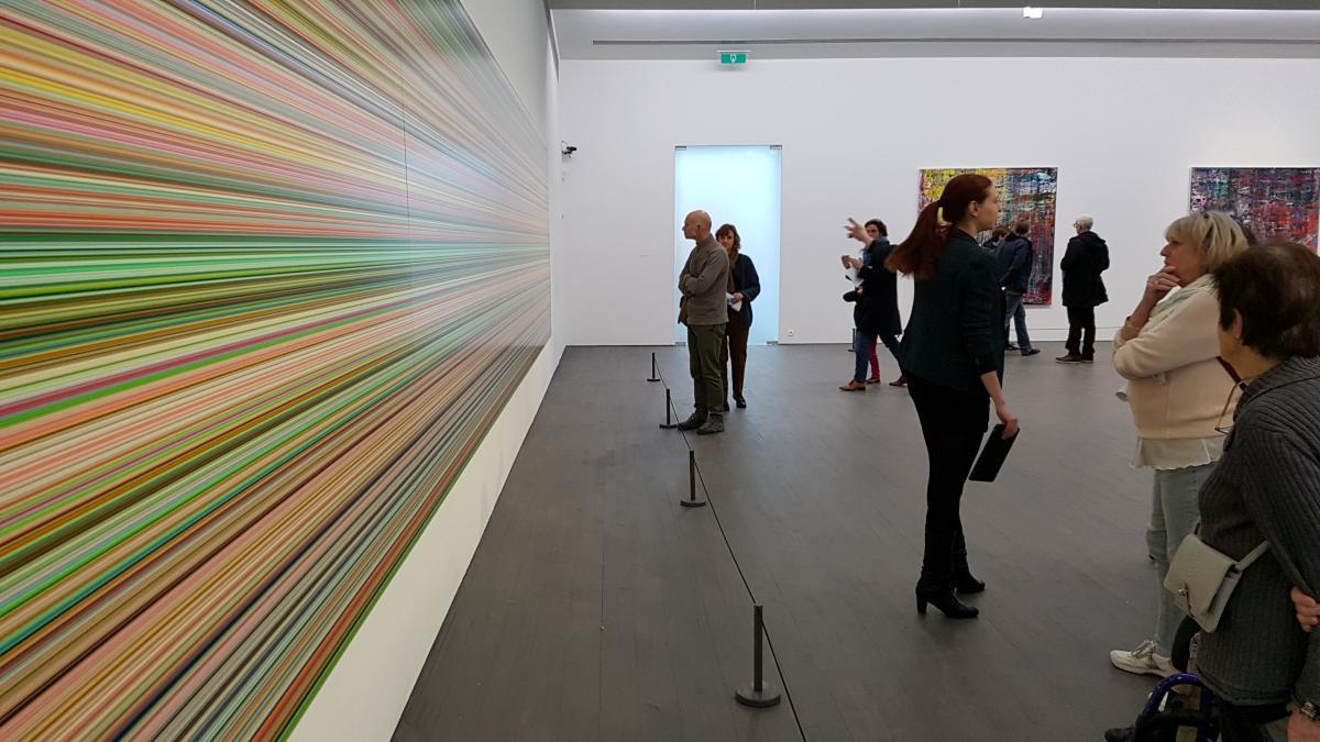 Bezoek Smak Gent tentoonstelling Richter februari 2018