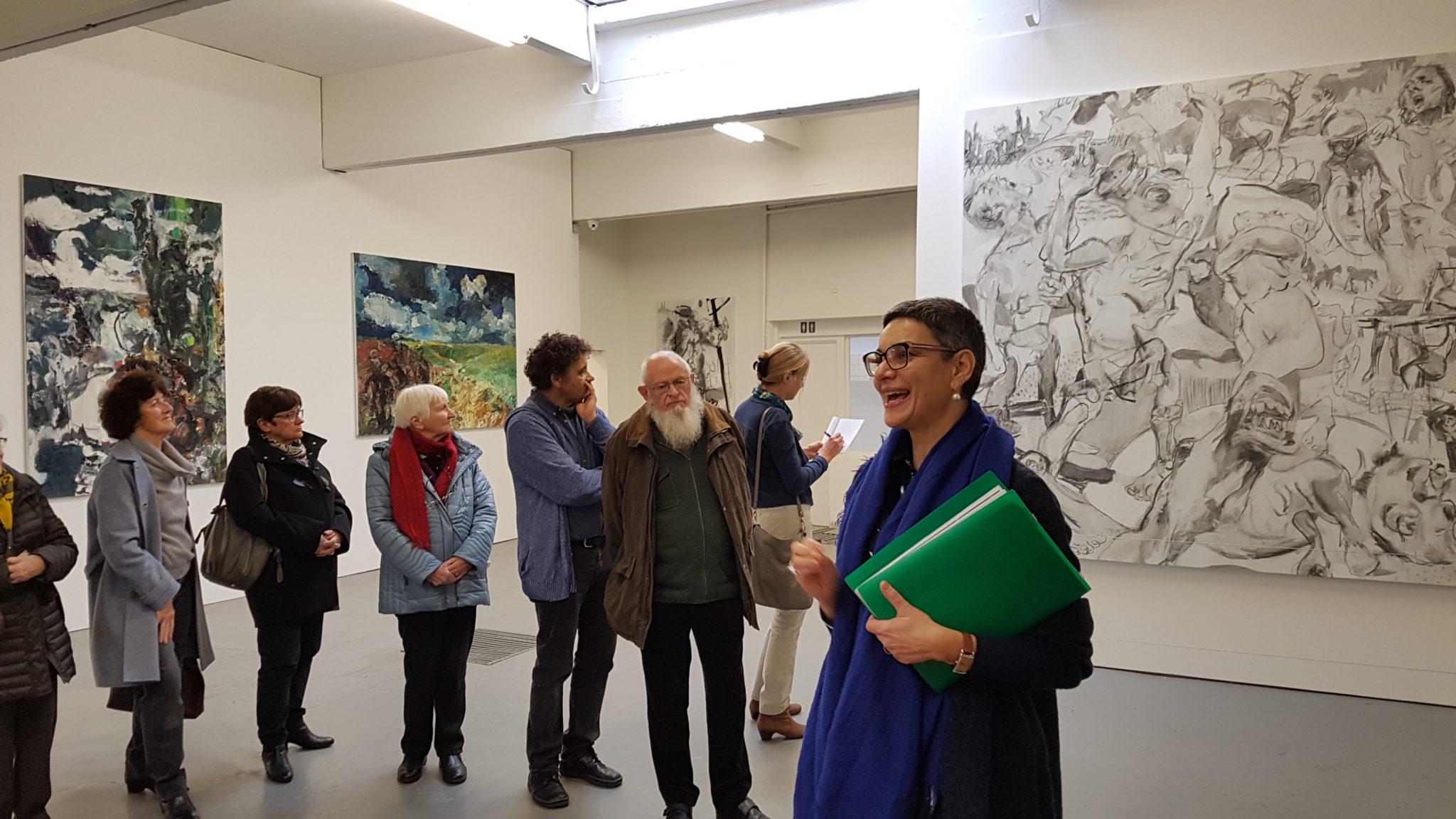 bezoek Galerij Sam Dillemans november 2018