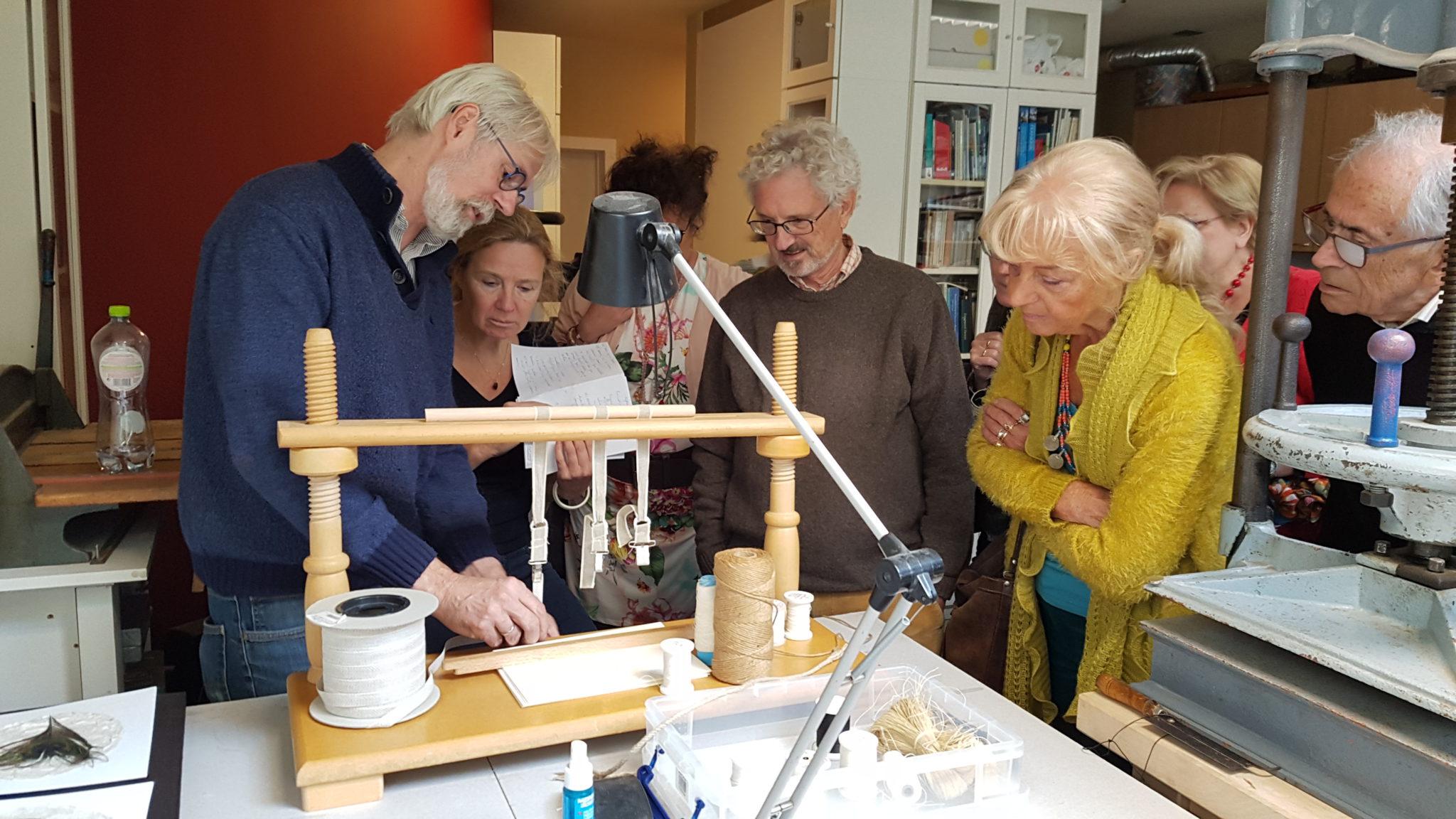 Bezoek Atelier Boekbinderij Marc Gerene