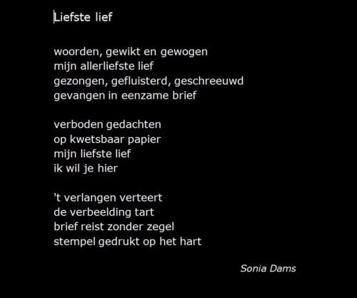 Sonia Dams Liefste Lief