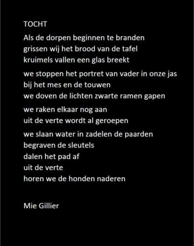 Tocht Mie Gillier